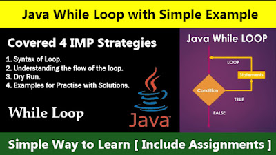 Java While Loop with Simple Example - Simple Way to Learn