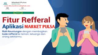 Keuntungan kode Refferal market pulsa