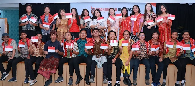 CU students from Indonesia celebrate 74th Indonesia Independence Day