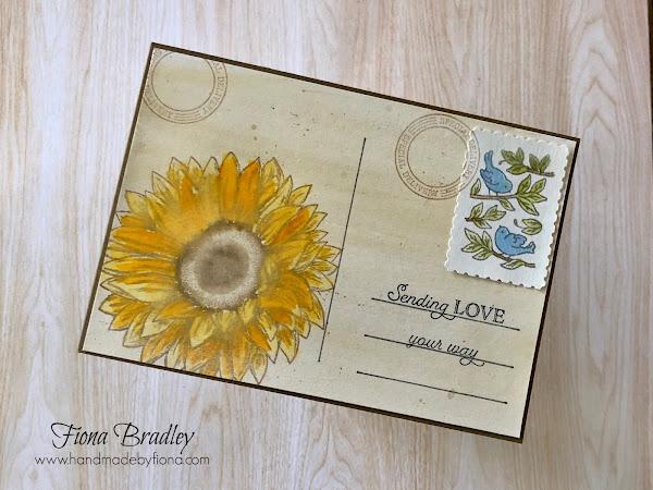 Sending Love and Sunflowers