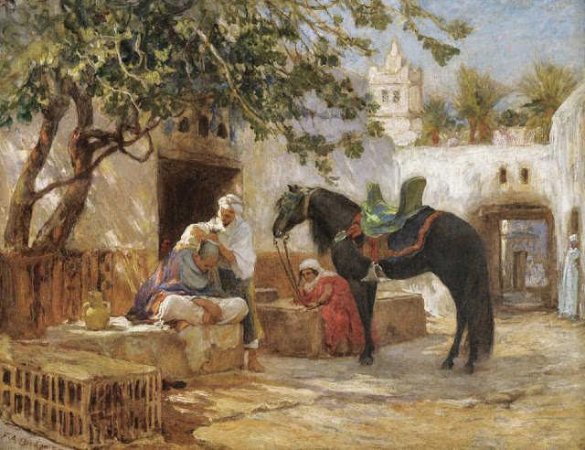 لوحات نادرة مصر بعيون Frederick Arthur Bridgman