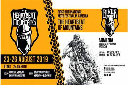 70 motociclistas de siete países llegarán a Armenia