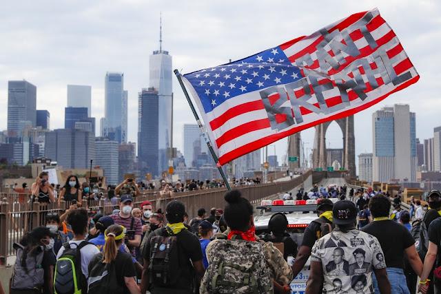 Funeral de Floyd e marchas pacíficas marcam 10º dia de protestos