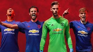 Manchester United Resmi Luncurkan Jersey Baru