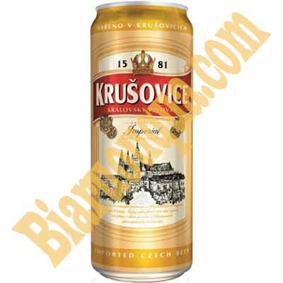 Mua bia lon Krusovice imperial ở đâu?