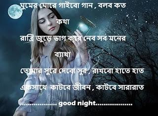 Bengali Good Night SMS - Bangla Good Night sms Photo