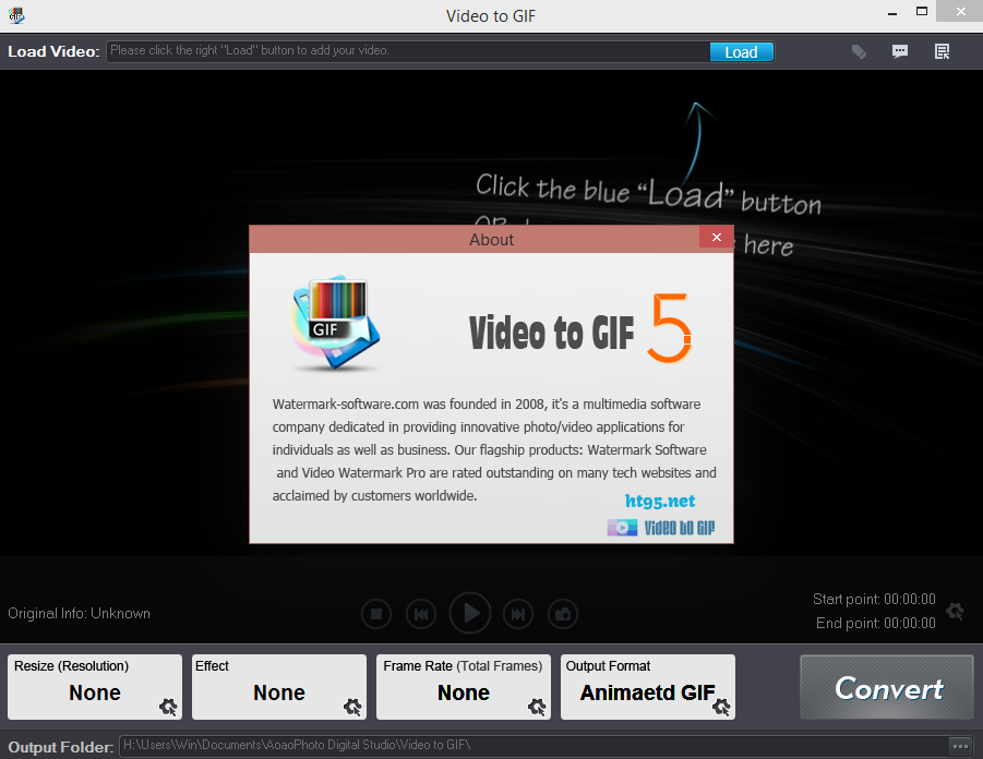 Aoao Video to GIF Converter Full Version FREE - Geeksforfun