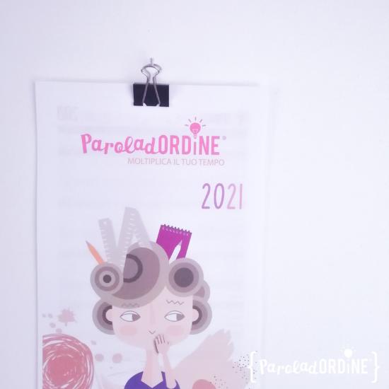 Paroladordine corso Agenda perfetta professional organizer