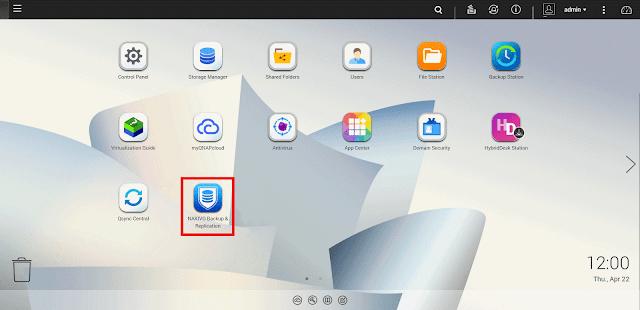 NAKIVO VM Backup Appliance: basado en un NAS QNAP.