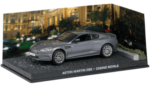 Aston Martin DBS - Casino Royale 1:43 colección james bond