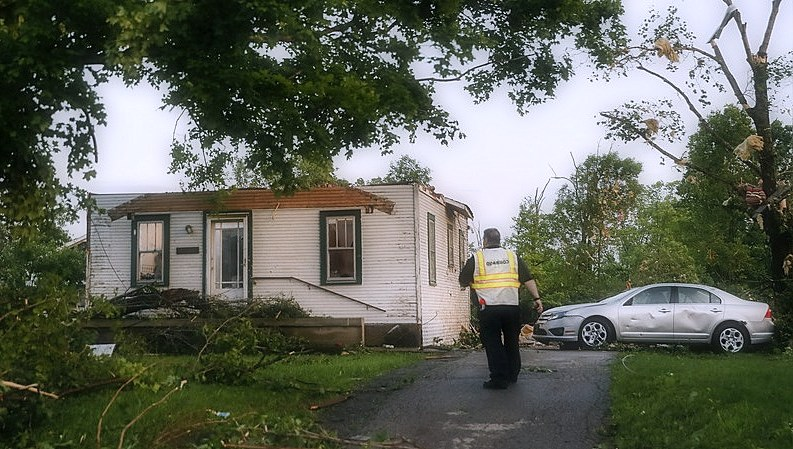 Several tornadoes land in Dayton, Ohio, causing catastrophic damage
