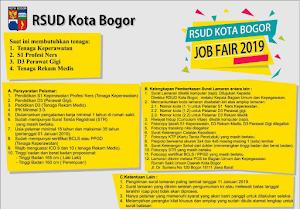 Rekrutmen Terbaru RSUD Kota Bogor Tahun 2019