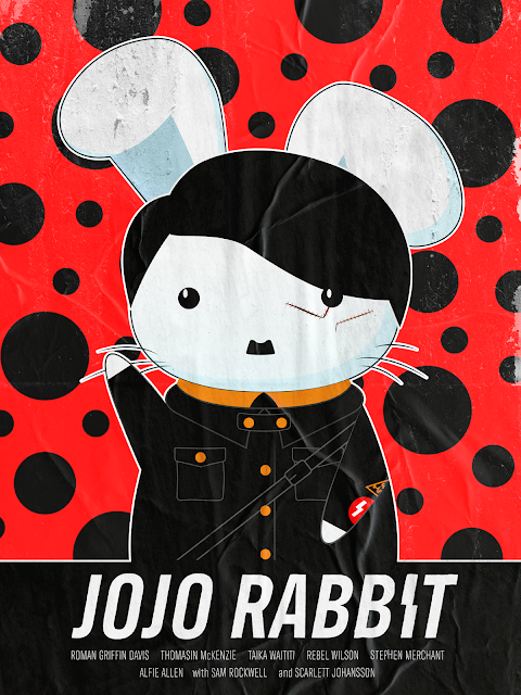 "Shutterstock Celebrates Oscar-Nominated Films With Reimagined Movie Posters - ""Jojo Rabbit"" Poster by Thanh Nguyen"