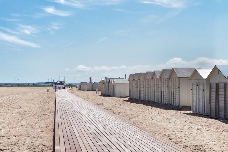 Séjour à Caen et promenade sur la plage