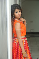 Shubhangi Bant in Orange Lehenga Choli Stunning Beauty ~  Exclusive Celebrities Galleries 028.JPG