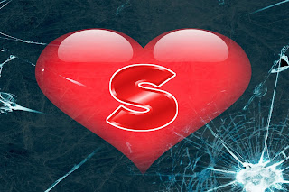 S letter love pic, s letter love image, s letter I love you images
