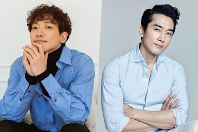 """Rain le da las gracias a Song Seung Heon por enviar su apoyo al plató de """"Welcome 2 Life"""""""