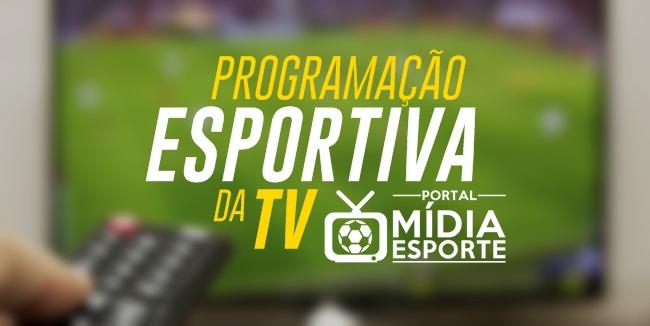 Programação esportiva da TV