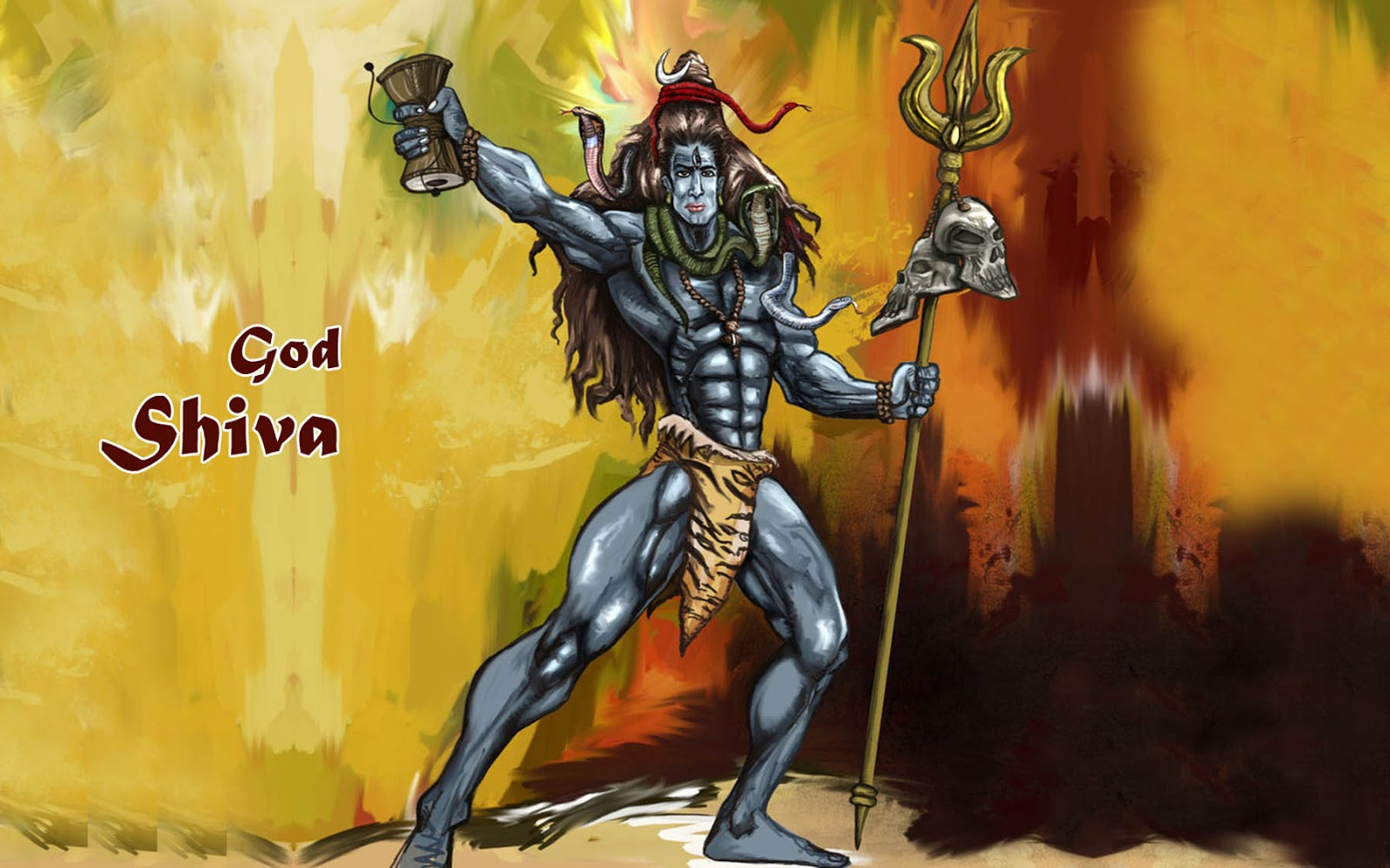 Lord Shiva Tandav HD Wallpapers Free Download | God ...