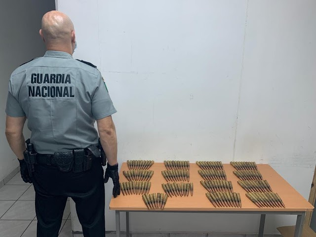 EN GARITA DE SONORA ASEGURAN CERCA DE 12 MIL CARTUCHOS ÚTILES DE GRUESO CALIBRE