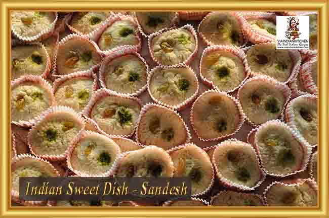 Indian Sweet Dishes - Sandesh