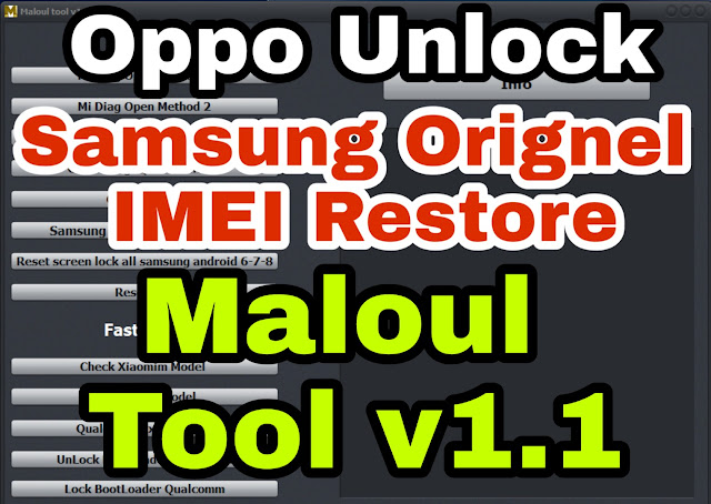 Samsung Orignel Imei Restore Adb-Fastboot (Malout Tool New Cracked Free Version Download