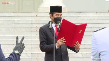 Jokowi Tegur BNPB Belum Maksimal Pembagian dan Kampanye Masker