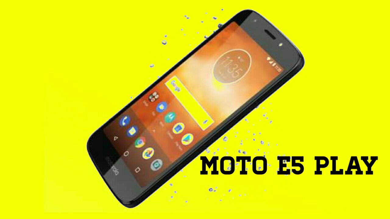 Moto E5 play go edition picture