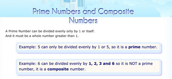 ¿Qué son los números primos?