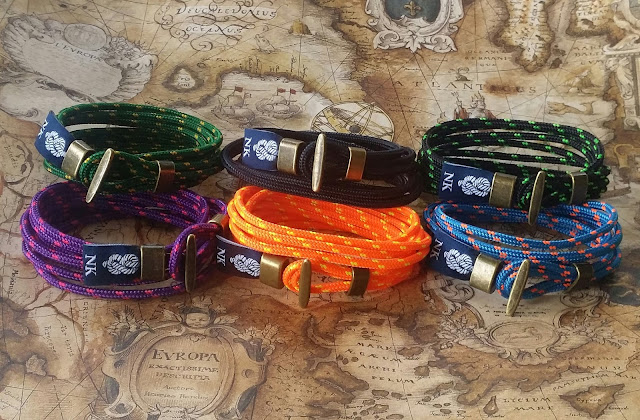 Pulsera náutica Roller -- Nautical bracelet Roller