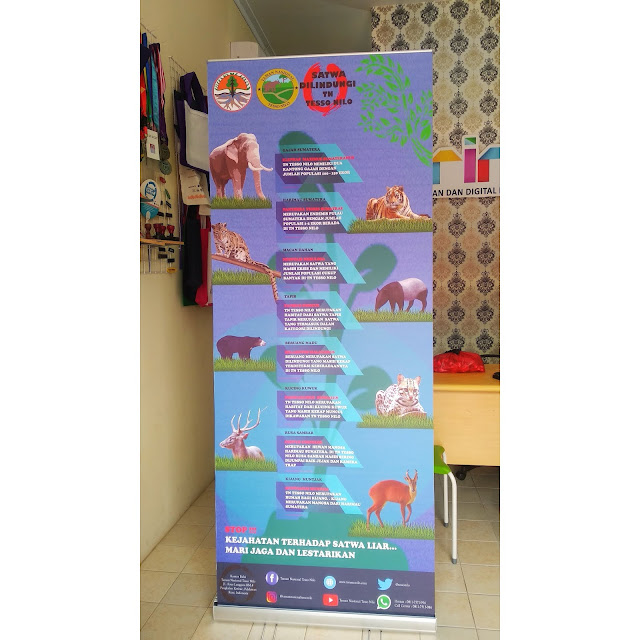 Roll Up Banner Tesso Nilo