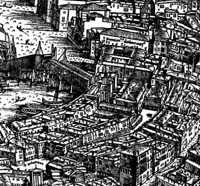 Jacopo de Barbari's map of Venice, Museo Correr, Venice