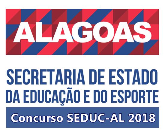 Edital do concurso Seduc-AL 2018, 850 vagas