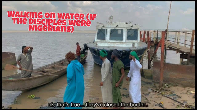 VIDEO: Xploit Comedy – Walking on the Sea (If the Disciples Were Nigerians) (Mp4 Download)
