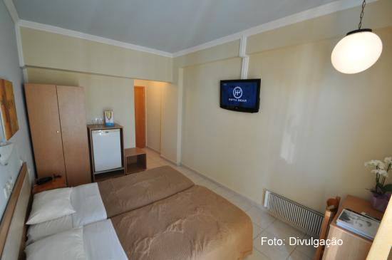 Apartamento do Hotel Parthenon City, em Rodes