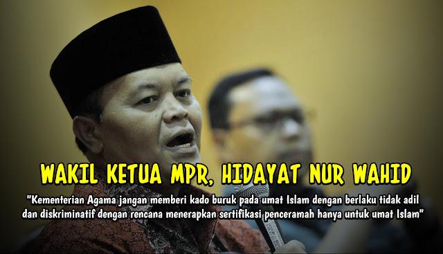 Wakil Ketua MPR Sebut Kemenag Beri Kado Buruk bagi Umat Islam dengan Sertifikasi Dai