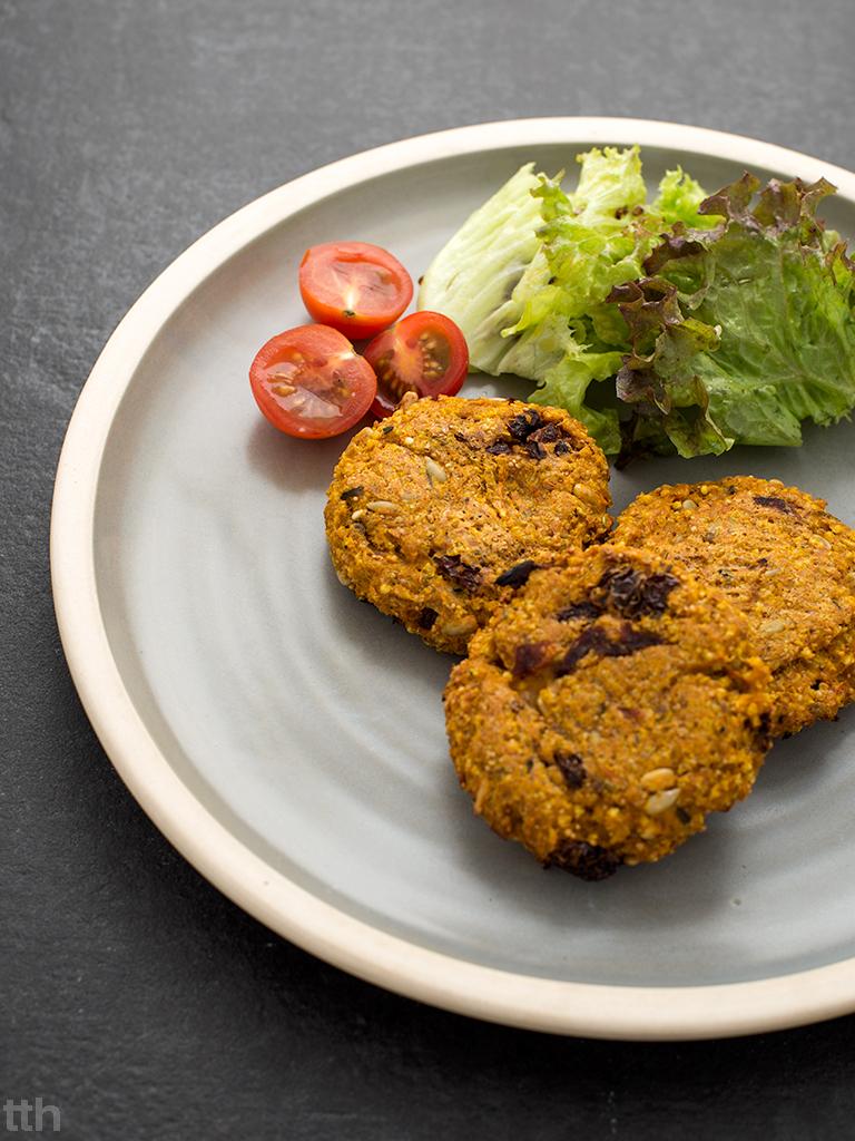 burgery wegańskie kasza jaglana bezglutenowe bezmięsne blog