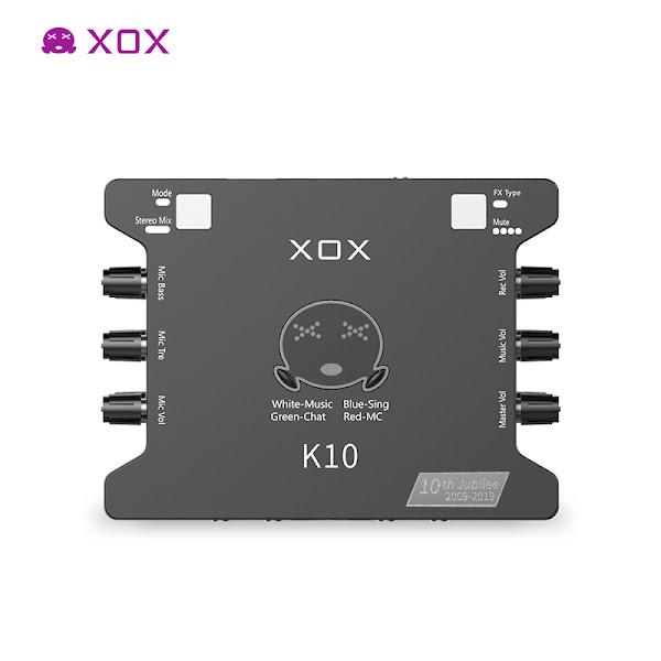 Sound Card K10th Phiên bản kỉ niệm 10 năm hãng XOX