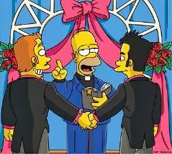 DETRÁS DEL MOVIMIENTO GAY:  LOS ILLUMINATI Homer-gay