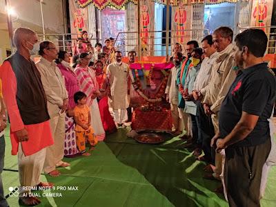रामरावबापू महाराज यांचे मंदिर उभारणार- आ. बालाजी कल्याणकर