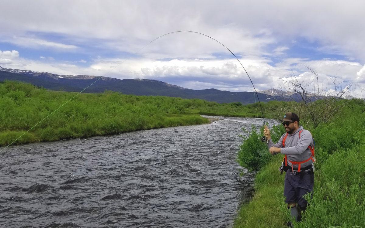 Jon Baiocchi Fly Fishing News: Colorado Fly Fishing Trip ~ 7/11/2020