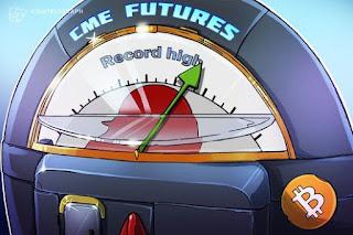 الصفقات المفتوحة في بورصة شيكاغو التجارية لعقود بيتكوين الآجلة تسجّل رقمًا قياسيًا