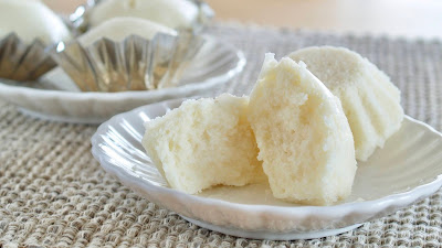 Steamed Rice Cake (Gluten Free / Vegan) 白糖糕 Bai Tang Gao