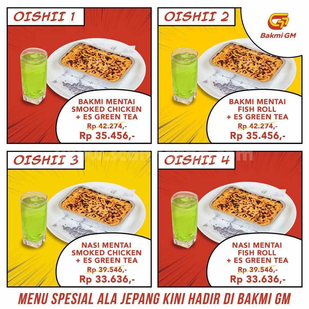 Promo Bakmi GM Taste of Japan - harga Rp. 30 Ribuan per paket 2