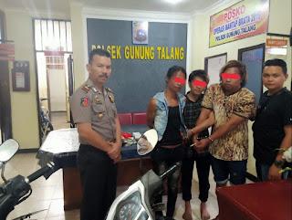 Tiga Pelaku Shabu Ditangkap di Sungai Rotan, Cupak, Solok
