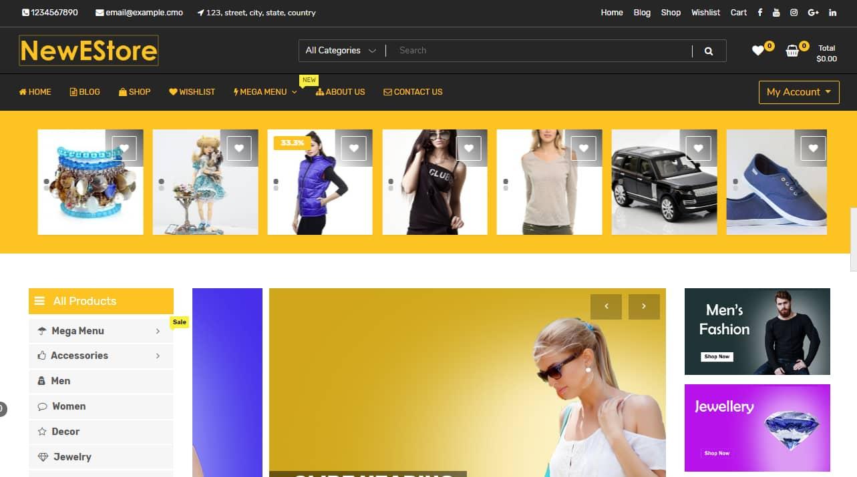 Amazon Affiliate Blogger Template