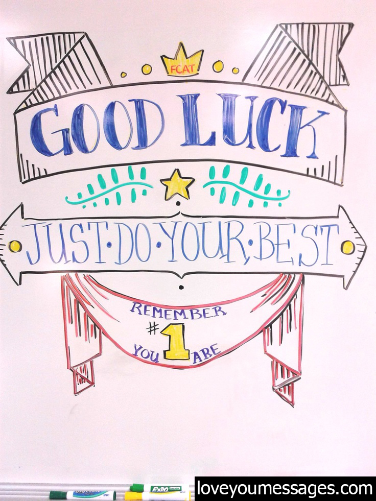 hsc good luck messages - good luck messages for exam - Love