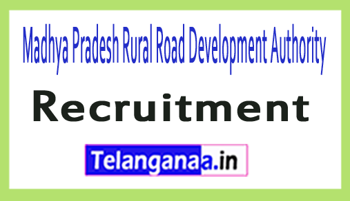 Madhya Pradesh Rural Road Development Authority MPRRDA Recruitment