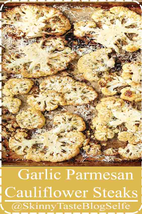 4.7 | ★★★★★ Your new go-to side dish Roasted cauliflower is the besteasiest way to go So crisp-tender and perfectly seasoned #GarlicParmesan #Cauliflower #Steaks