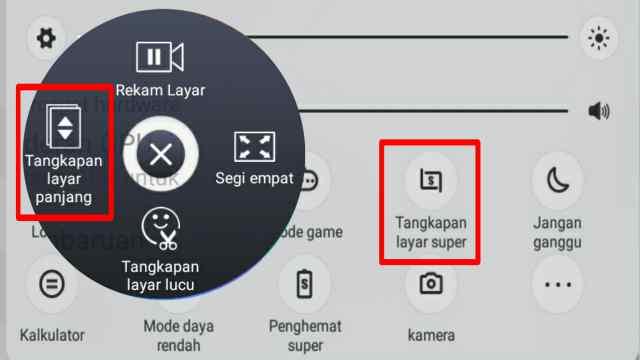 Cara screenshot panjang di hp vivo tanpa aplikasi